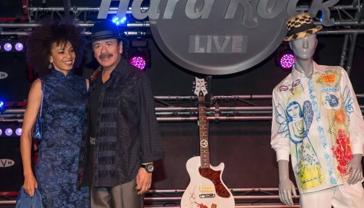 Hard Rock Cafe Partners With Carlos Santana on Spring Cocktail Menu