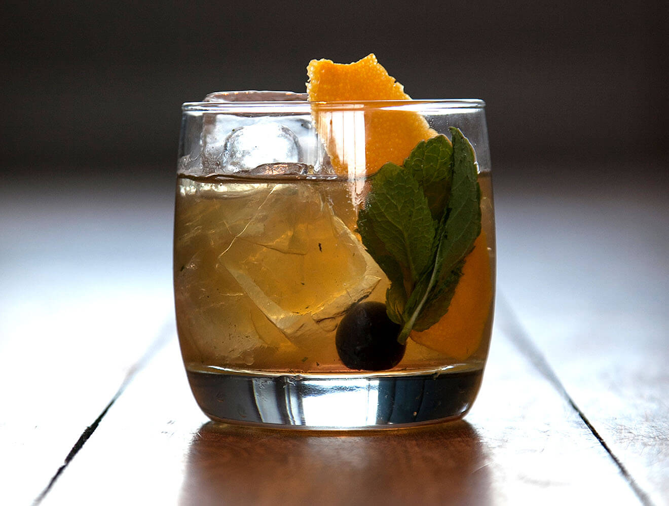Mint Old Fashioned