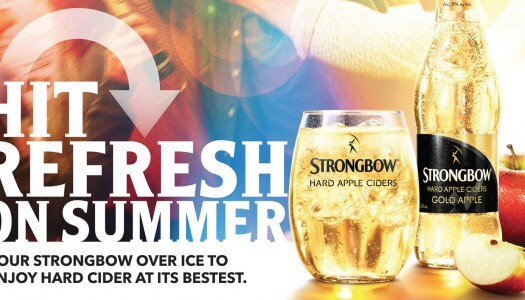Strongbow's 360 Campaign Hits Refresh on Summer
