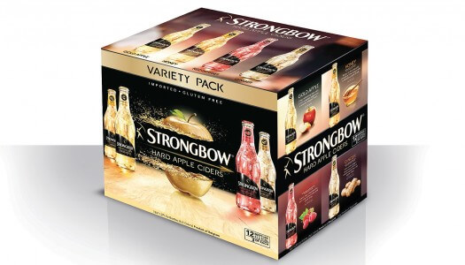 Strongbow Hard Apple Ciders Debuts New Variety Pack