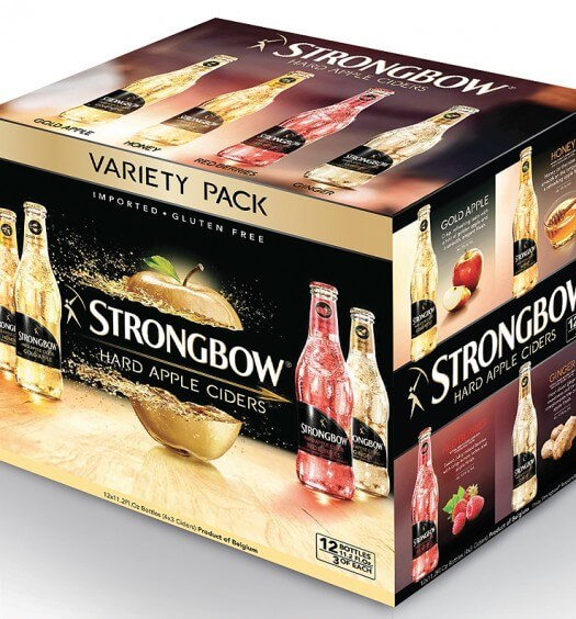 Strongbow Hard Apple Ciders Debuts New Upscale Variety Pack