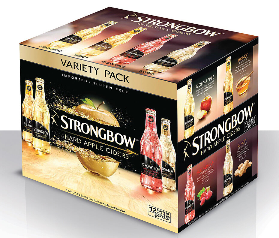 Strongbow Hard Apple Ciders Variety Pack