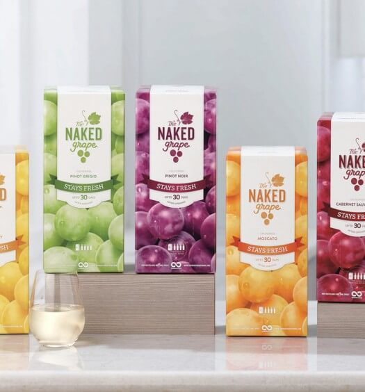 Think Inside The Box on Earth Day with The Naked Grape Wine
