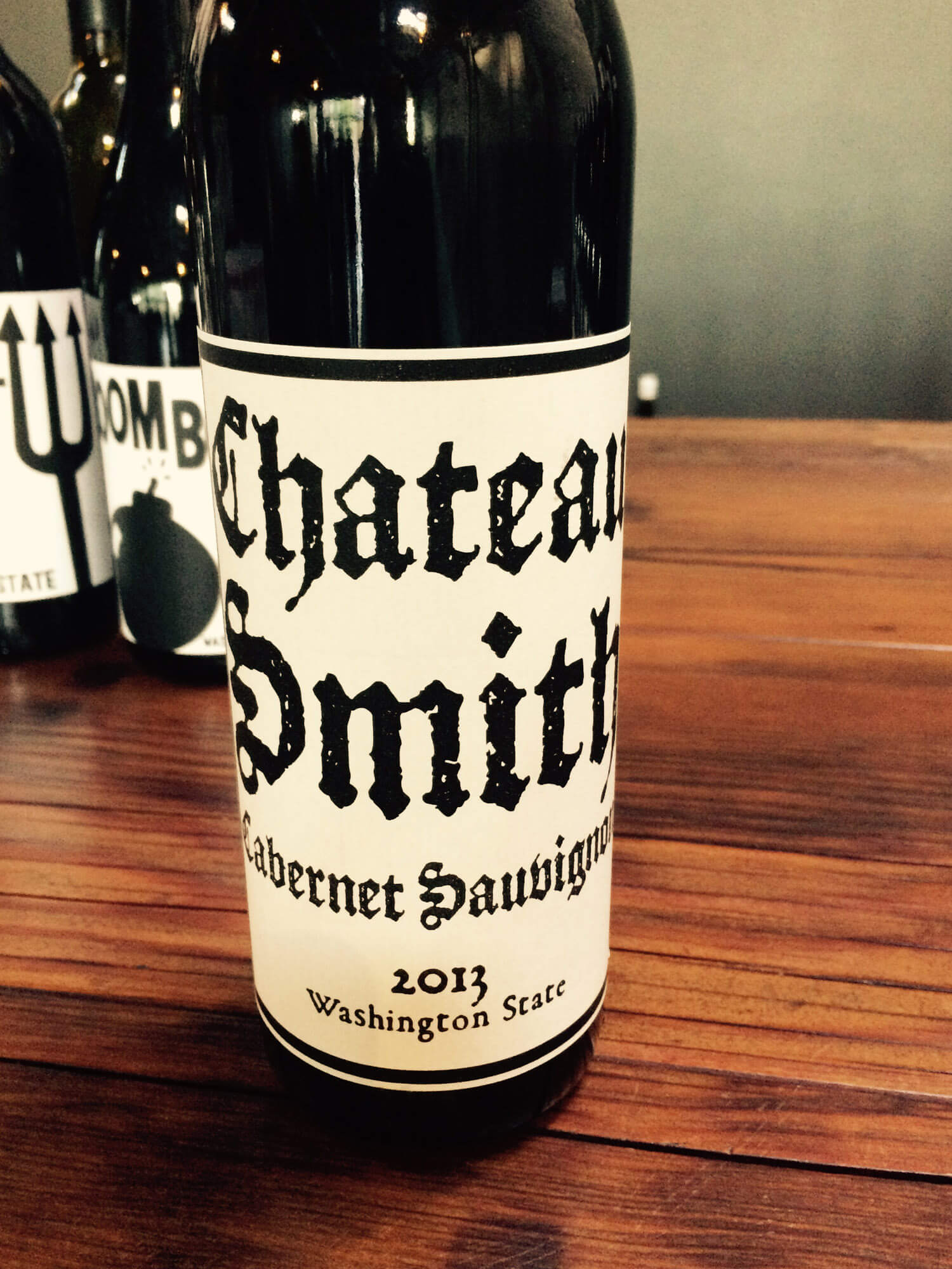 Charles Smith Cabernet Bottle