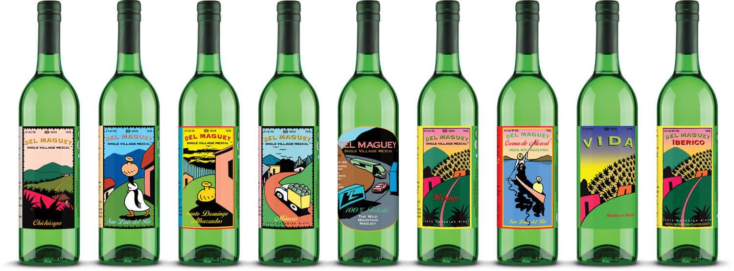Del Maguey Lineup