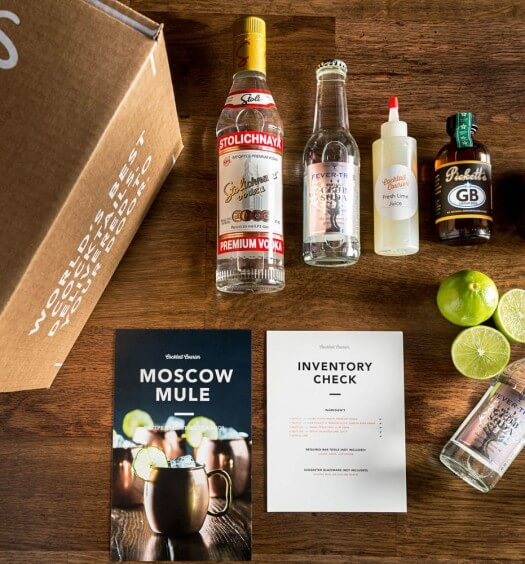 Moscow Mule Cocktail Courier