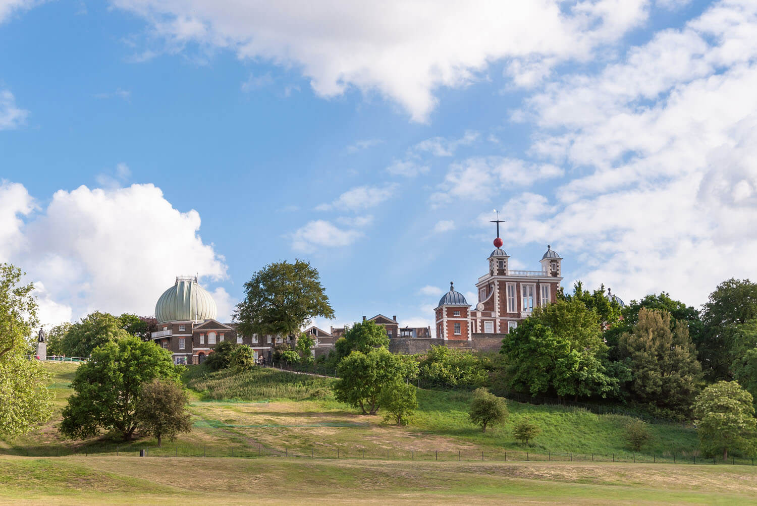 Royal Observatory in Greenwich park, London