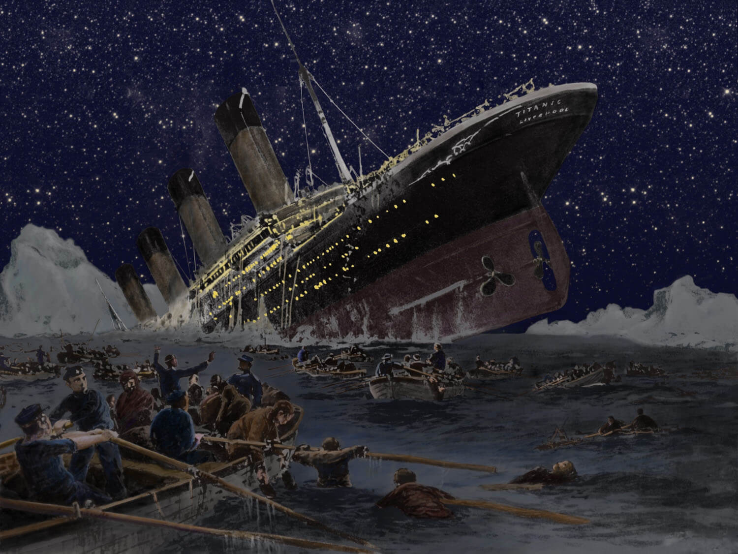 sinking of the titanic Titanic: survival game, when you've got that sinking feeling, bribery's a lifesaver.