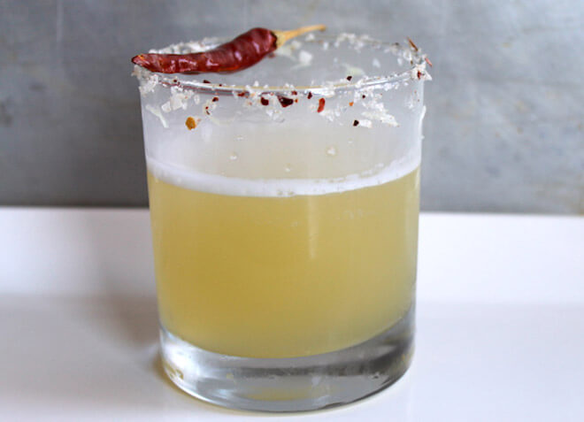 The Yuzu and Thai Chili Margarita