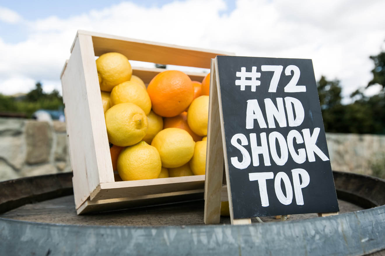 #72 and Shock Top Campaign