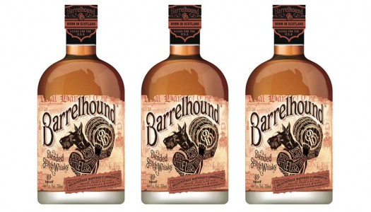 Barrelhound Blended Scotch Whisky Bridges Bourbon and Scotch