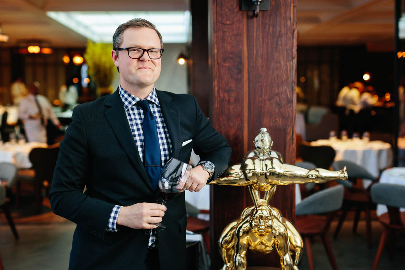David Vaughn - Beverage  Director Baltaire