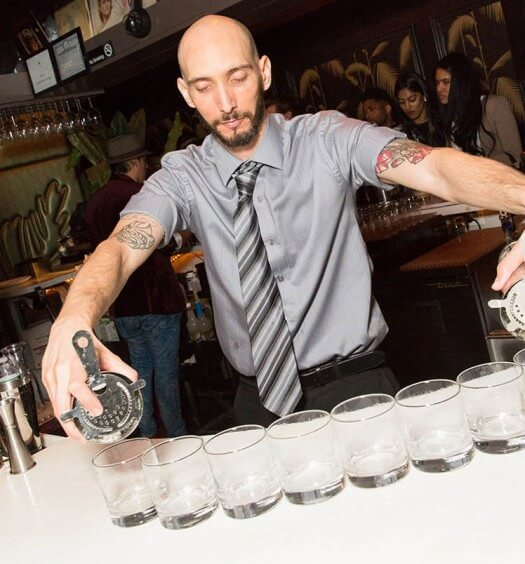 David Perez from Miami is the Disaronno Mixing Star of the U.S.