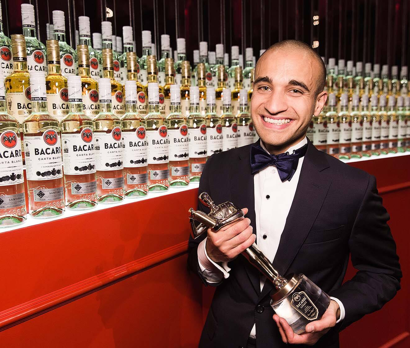 Frank Dedieu the Winner of The BACARDÍ Legacy Global Cocktail Competition