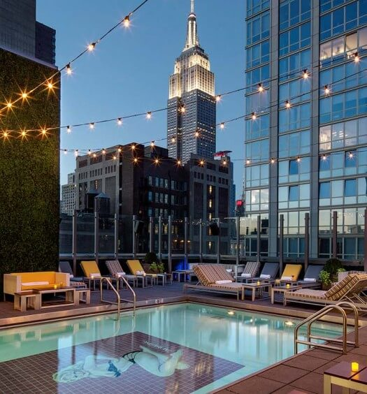"""Gansevoort Meatpacking and Park Avenue Introduce the """"Daycation"""" Package"""