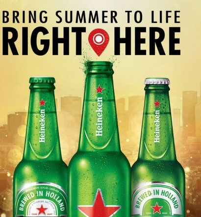 Heineken Unveils 2015 Summer Cities Promotion