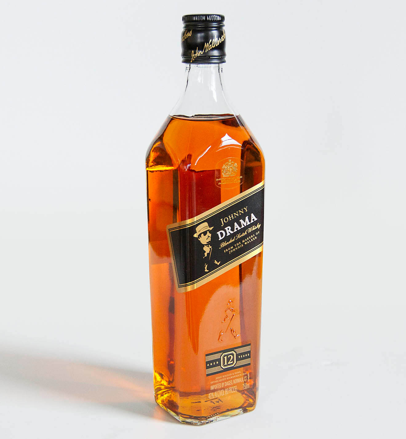 Johnny Drama Blend Johnnie Walker Scotch Whiskey