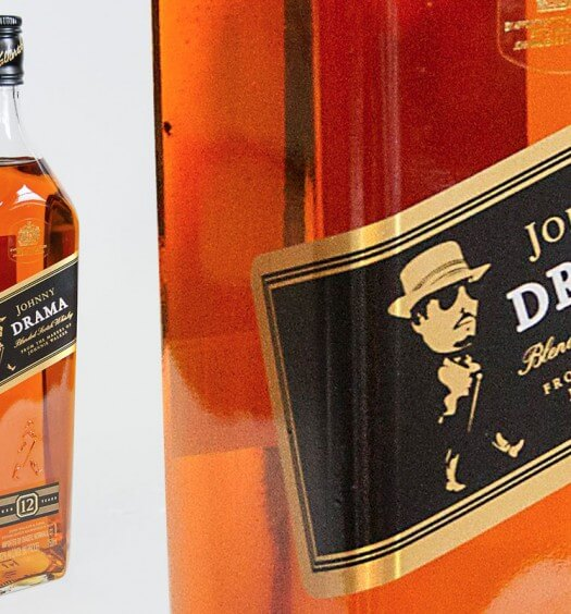Johnny Drama is the New Face of Johnnie Walker