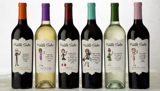 Middle Sister Wine Gets a Makeover