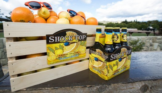 Shock Top's Lemon Shandy is Sunshine in a Bottle