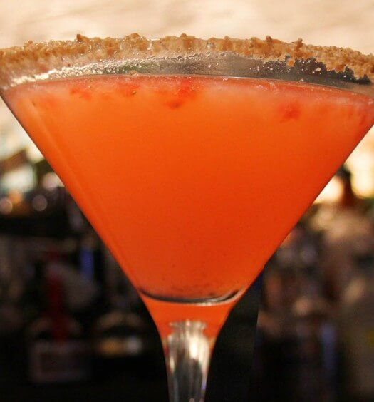 Chilled Drink of the Week: Strawberry Cobbler Martini