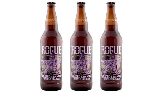 Rogue Wasted Sea Star Purple Pale Ale to Benefit Sea Star Wasting Syndrome
