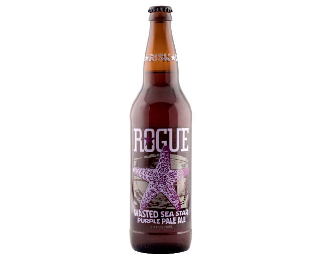 Rogue Wasted Sea Star Purple Pale Ale