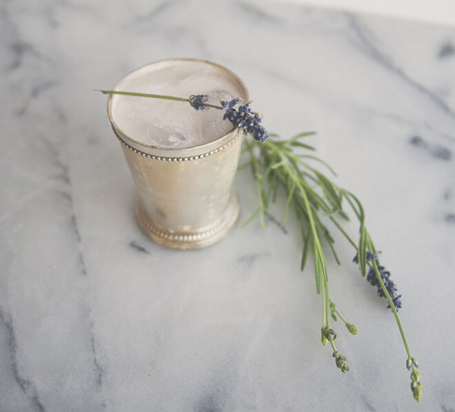 Almond Lavender Punch