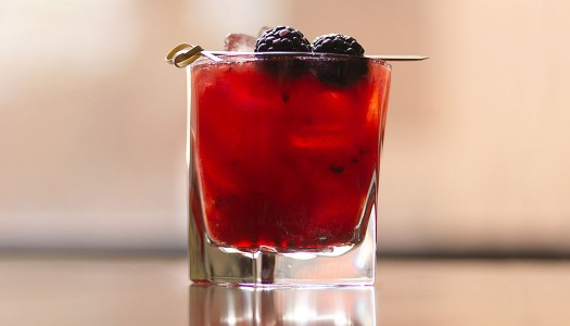 Berry Boosted Cocktails by Haru Sushi, NYC
