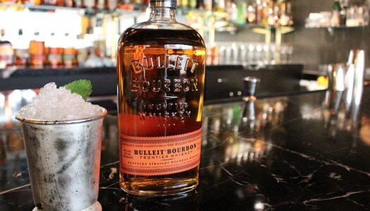 Bulleit Bourbon Mint Julep Cocktails for the Kentucky Derby