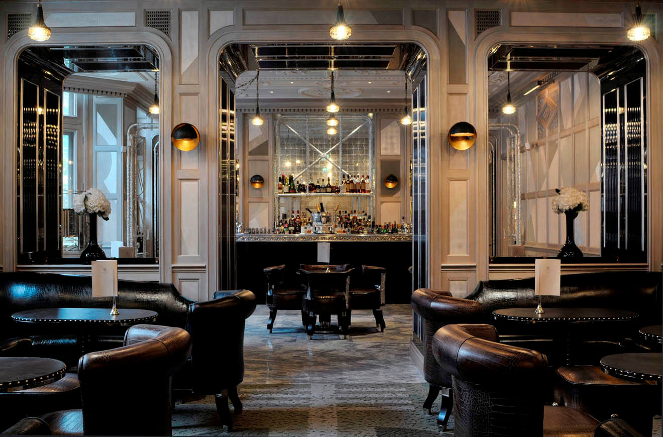 7 of the best old school cocktail bars in london - Deco bar design ...