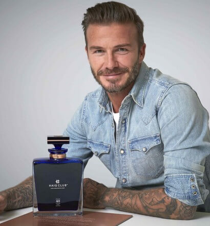 Haig Club Gives David Beckham the Gift of Whisky for His 40th