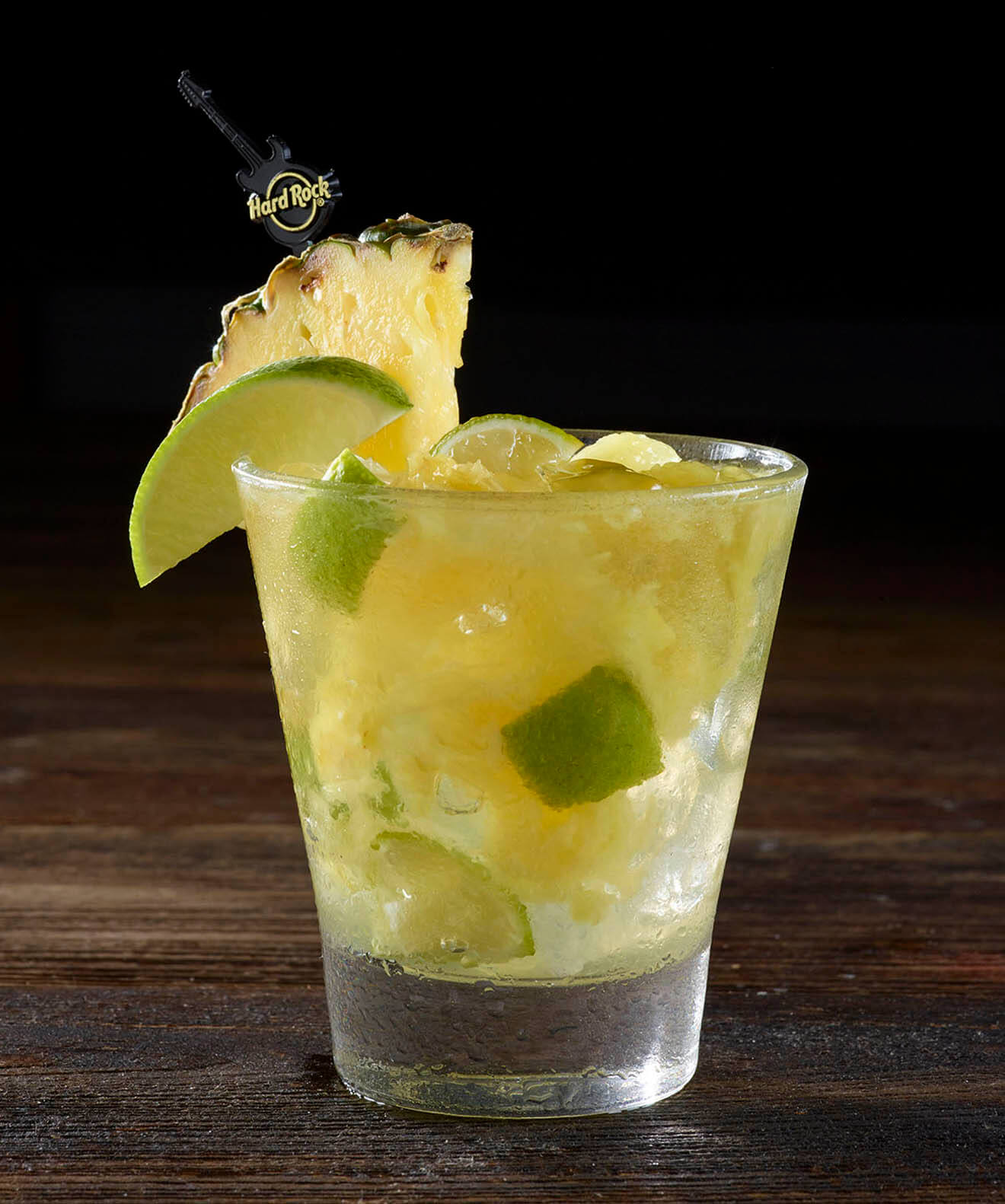 Hard Rock Cafe Pineapple Ginger Caipirinha