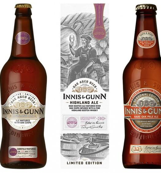 Innis & Gunn Introduces Two Beers that Honor All Things Scottish