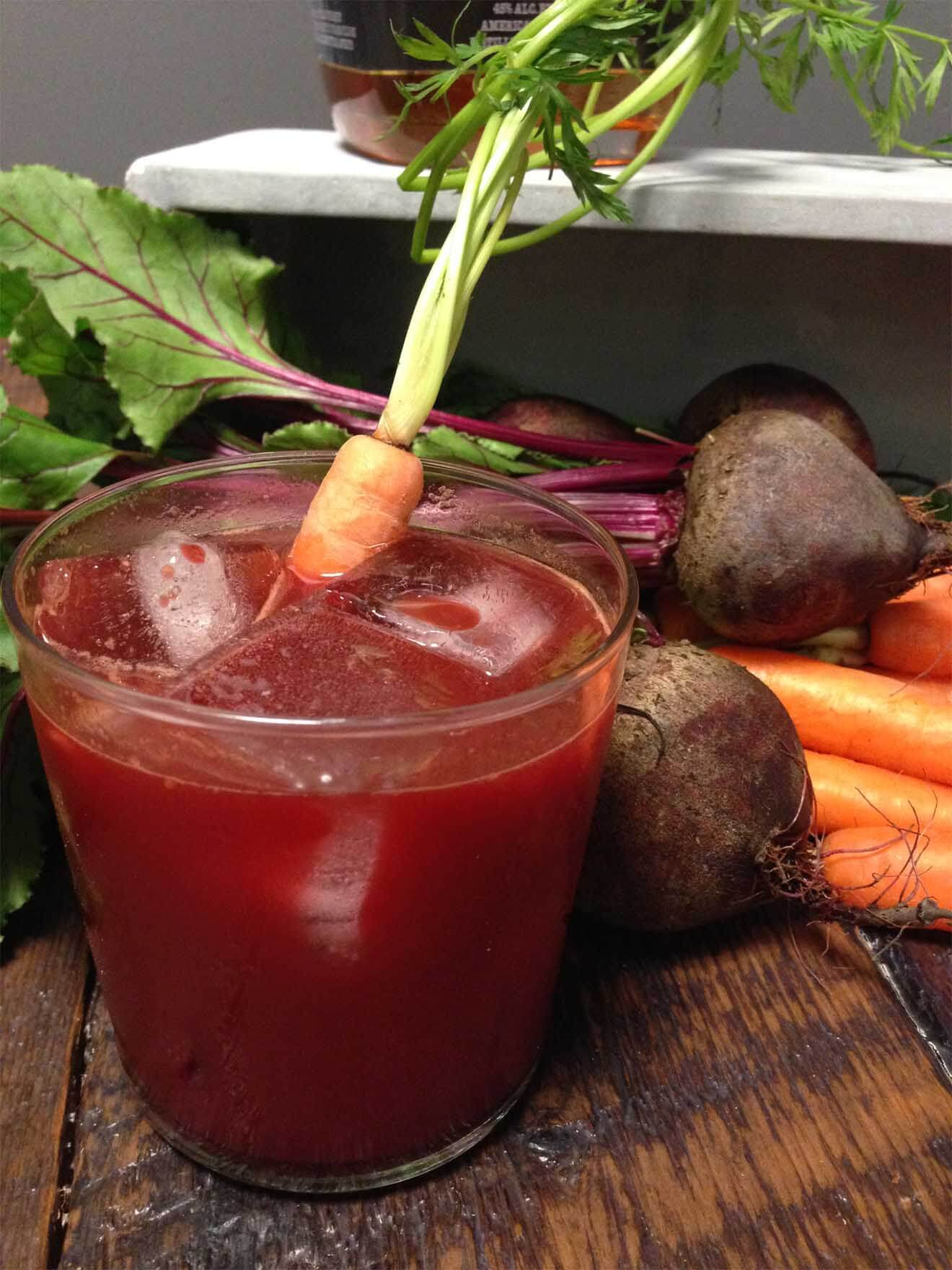 Must Mix Veggie Cocktail: The Tap Root