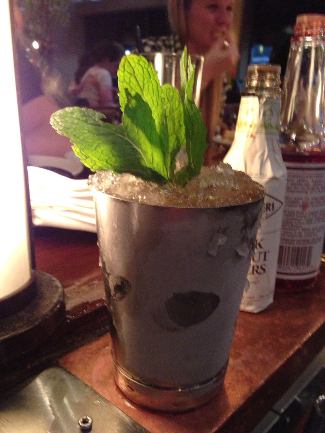 Spicy Mint Julep