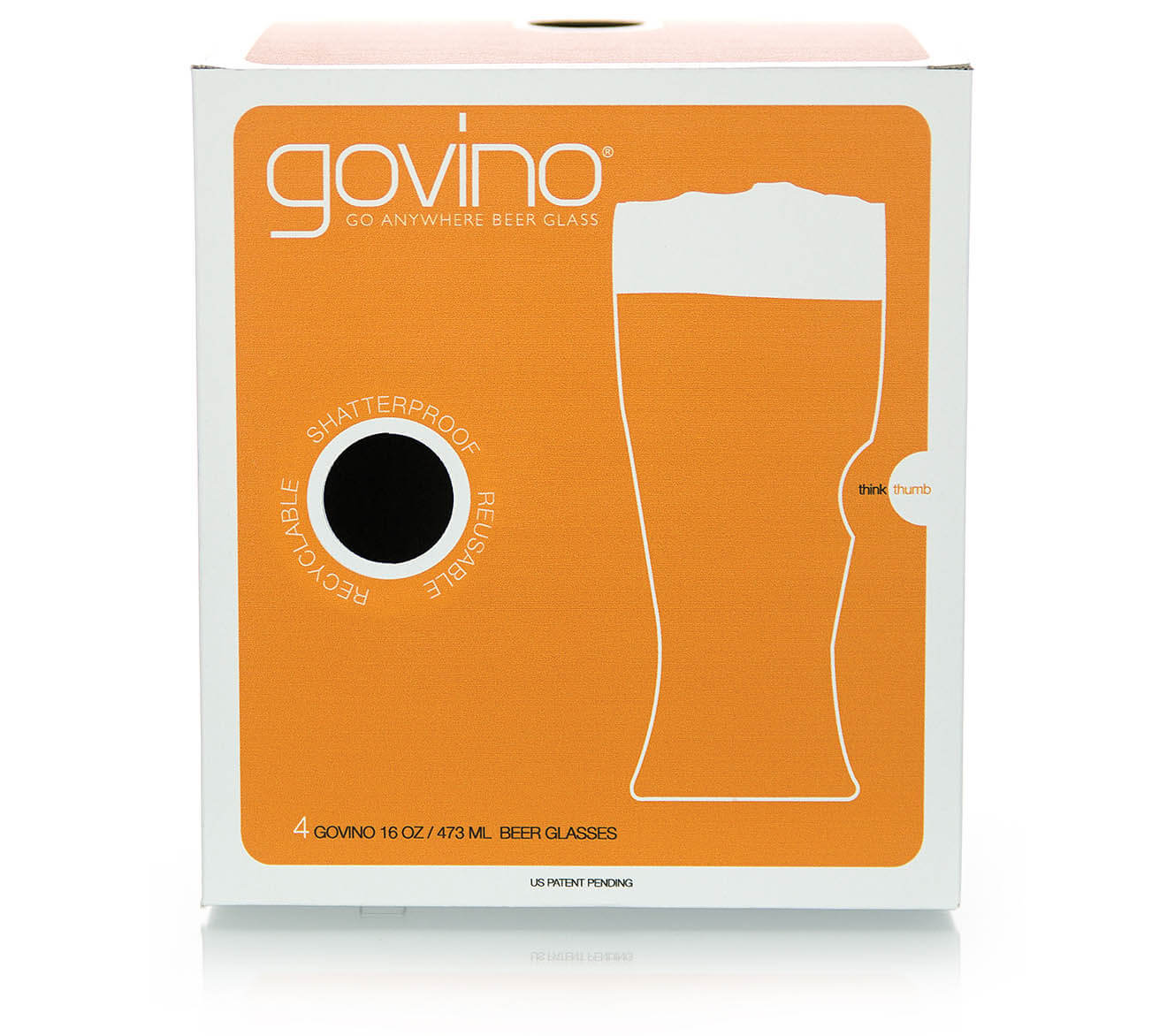 Go Anywhere Beer Glass 4 Pack