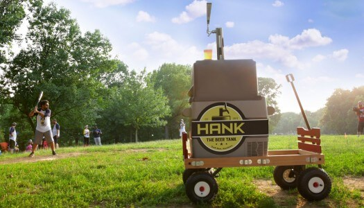 Portable Kegerator, Hank the Beer Tank, Launches Kickstarter Campaign