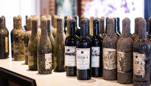 Mira Retrieves Eight Cases of Underwater Wine