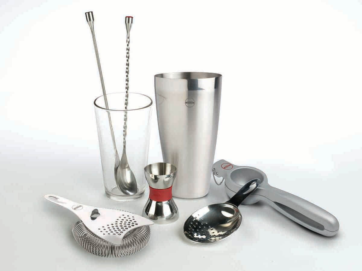 Modern Mixologist Bar Tools by Tony Abou-Ganim