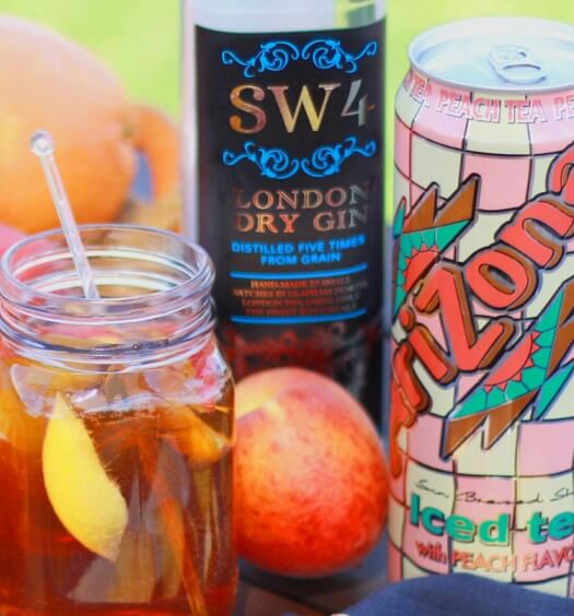 Easy to Mix: Gin & Iced Tea Cocktails