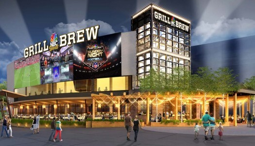 NBC Sports Grill & Brew Coming to Universal CityWalk