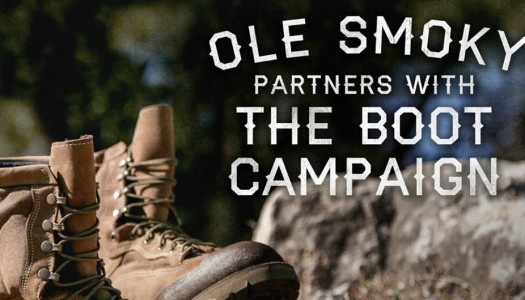 Boot Campaign Becomes Official Charity Partner of Ole Smoky Tennessee Moonshine