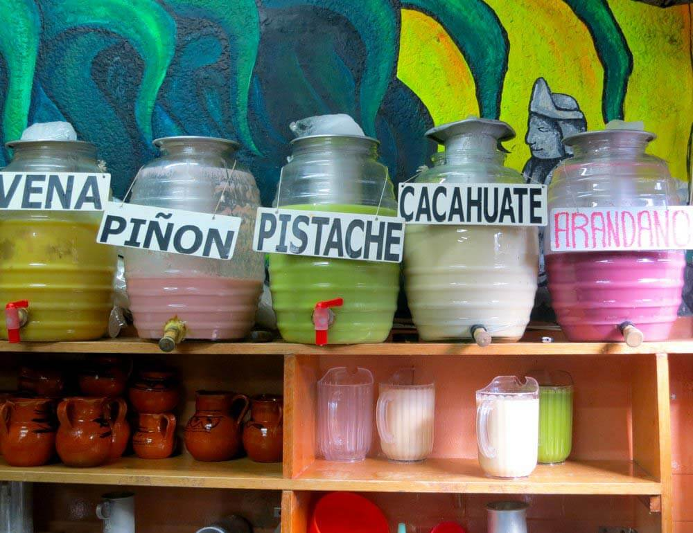 Pulque Glass Containers
