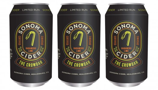 Sonoma Cider Debuts Two New Flavors – Crowbar and Dry Zider