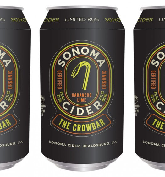 Sonoma Cider Debuts Two New Flavors - Crowbar and Dry Zider