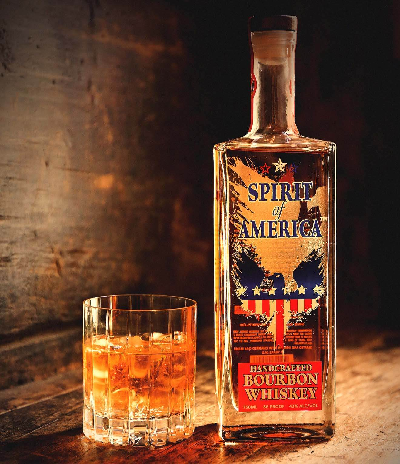 Spirit of America Handcrafted Bourbon Whiskey