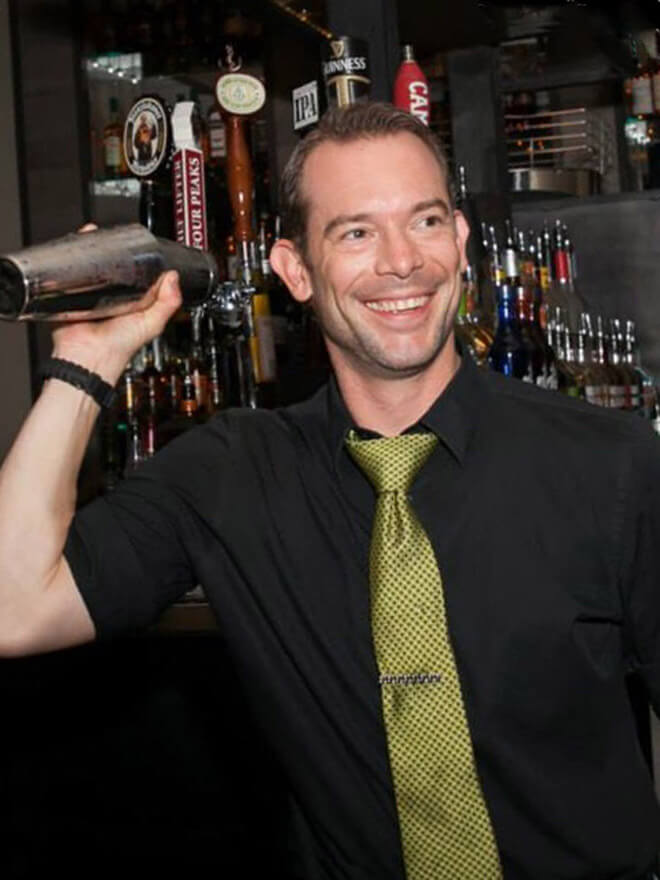 Brian Goodwin The Gladly Bartender