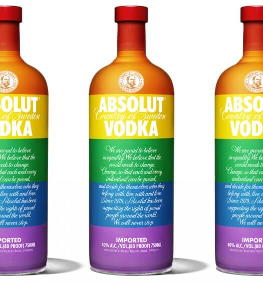 Absolut Celebrates #LoveIsLove with Launch of Limited Edition Colours Bottle