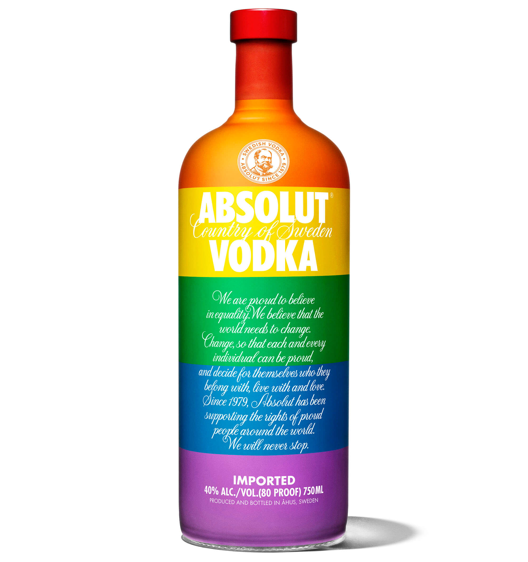 Absolut 'Colors' Bottle